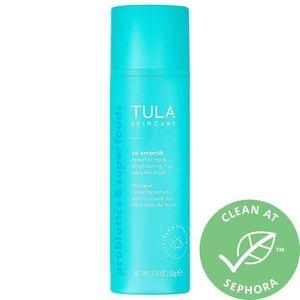 NEW Tula resurfacing & brightening enzyme mask
